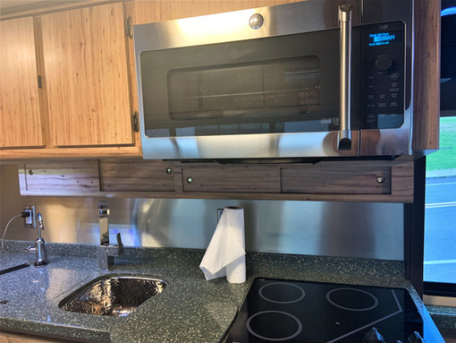 83 Prevost stove