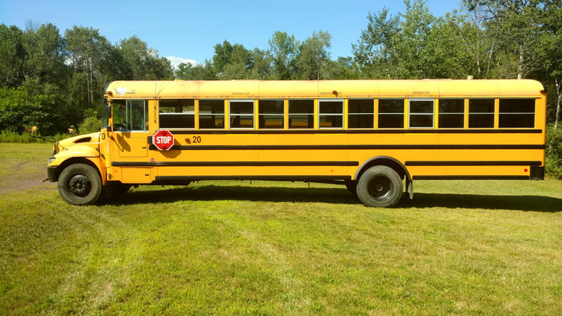 2013 School Bus other side