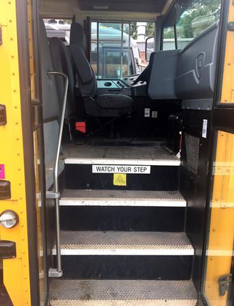International School Bus Steps