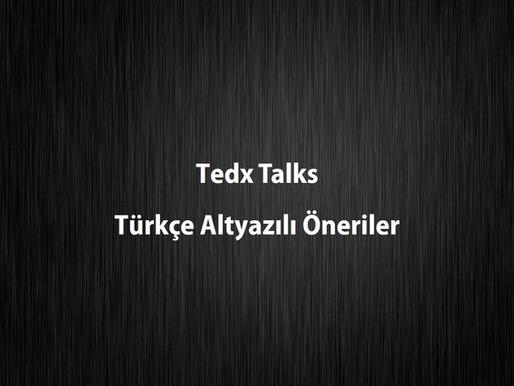 Tedx Talks Türkçe Altyazılı Öneriler
