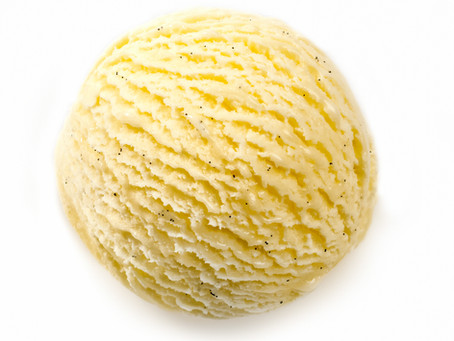 Is it ice cream, or mashed potato?