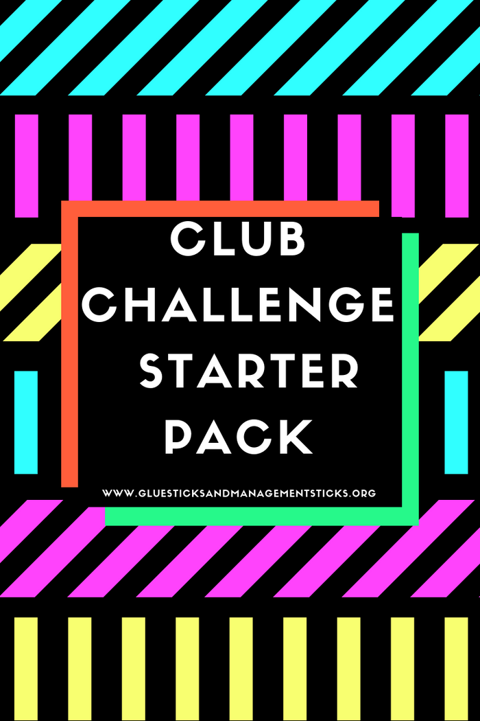CLUB CHALLENGE STARTER PACK