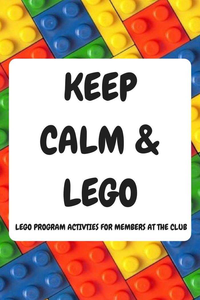 Keep Calm and LEGO