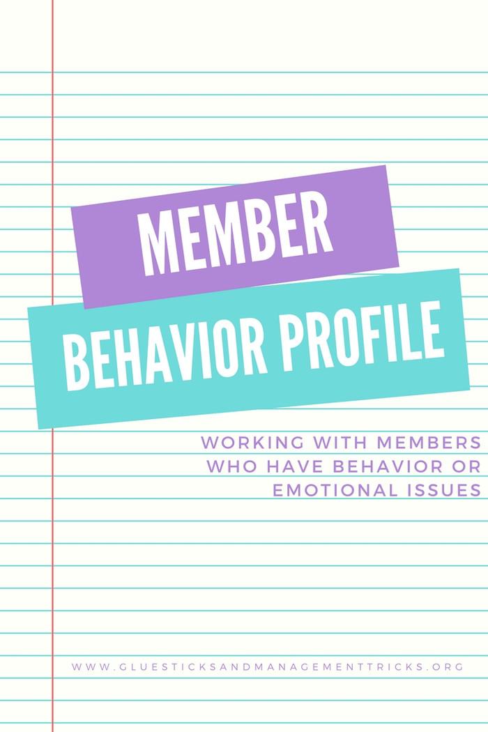 Member Behavior Profiles