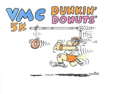 Dunkin' Donuts 5K Logo