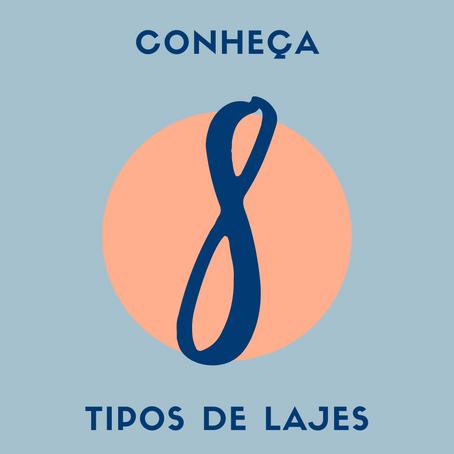 8 TIPOS DE LAJES