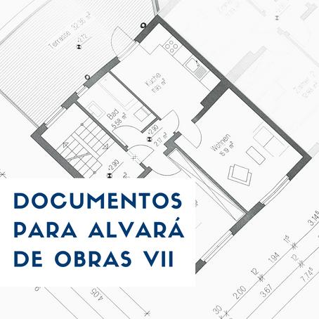 DOCUMENTOS PARA ALVARÁ DE OBRAS