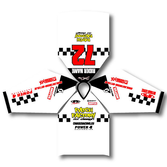 MX / MTB Jersey - Checkers