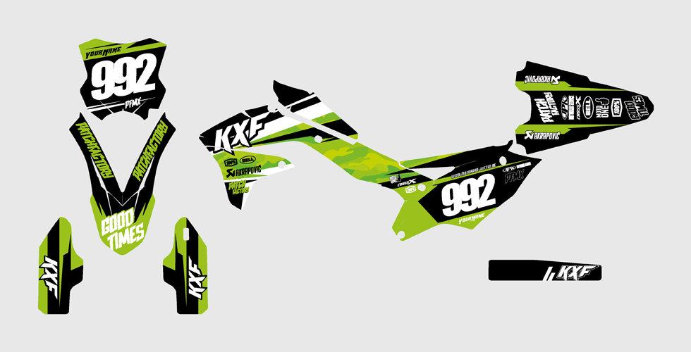 """Core Camo"" Graphics Kawasaki"