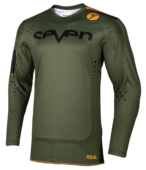 Seven Rival Trooper Jersey Oliv