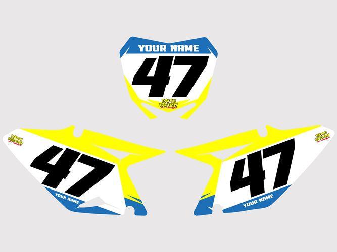Numberplates Rhyse - Suzuki