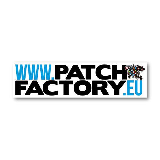 Patch Factory Bumper Sticker
