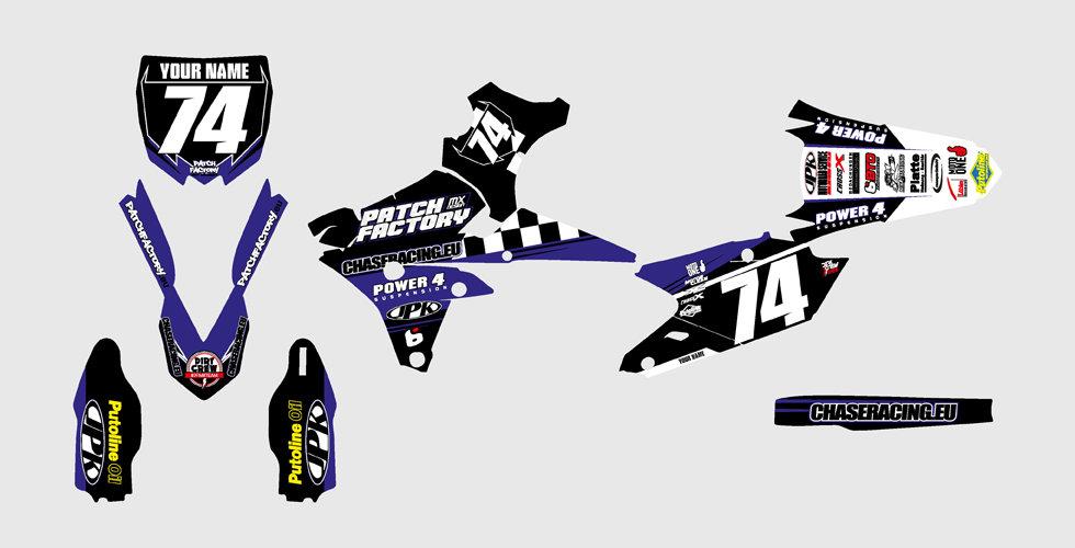 PFMX Team Replica Kit Yamaha