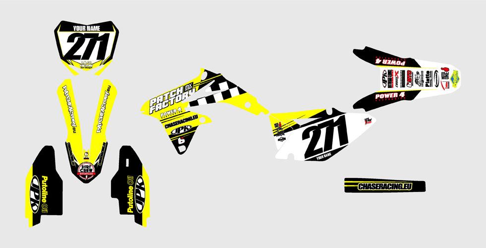 PFMX Team Replica Kit Suzuki
