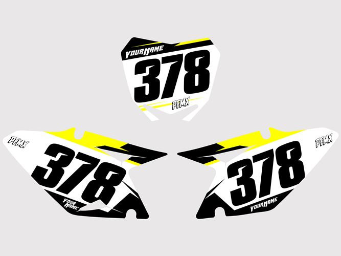 Numberplates Core2 - Suzuki