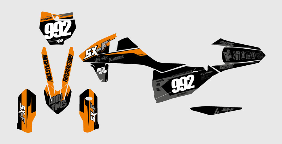 """Core"" Graphics KTM"
