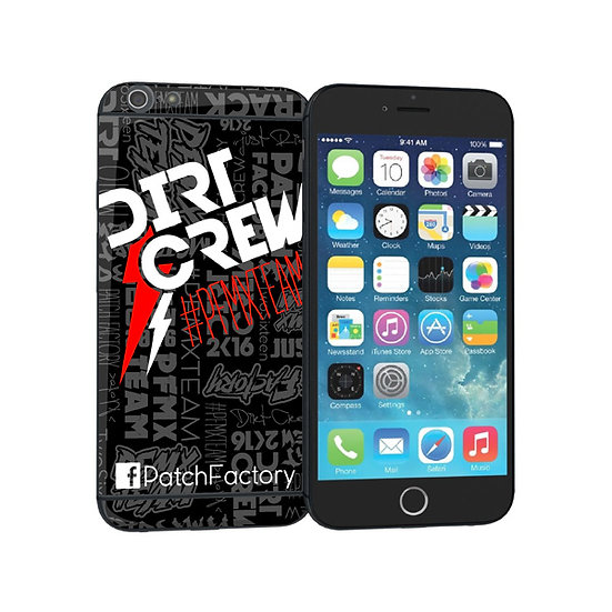 Dirt Crew iPhone Sticker