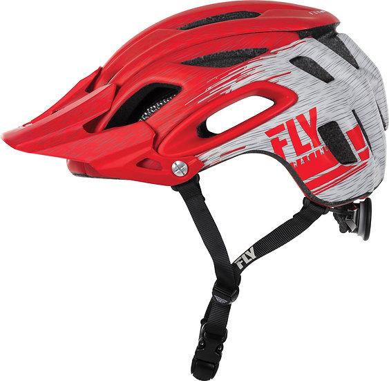 Fly MTB Helm Freestone Ripa rot-grau