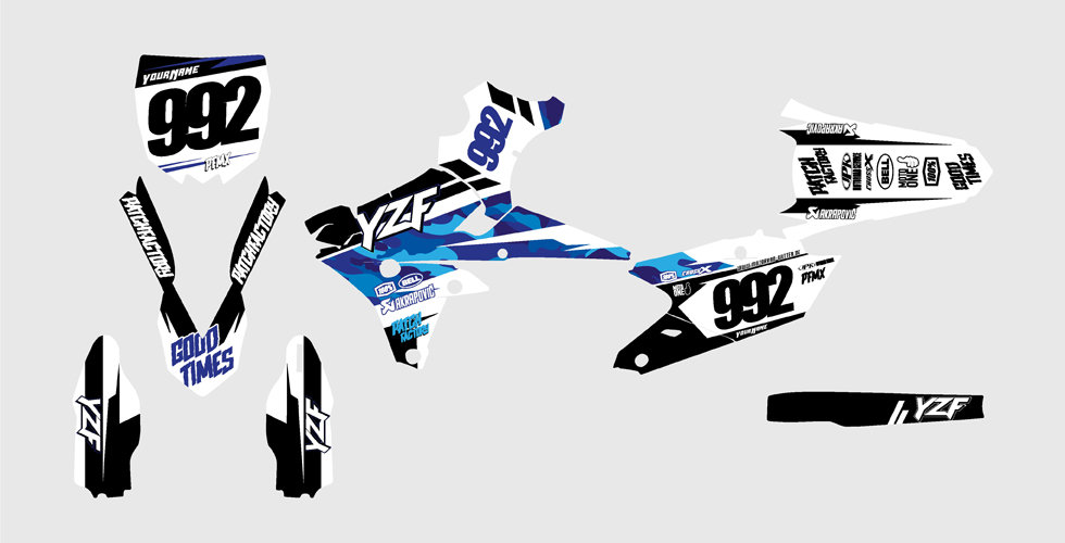 """Core Camo"" Graphics Yamaha"