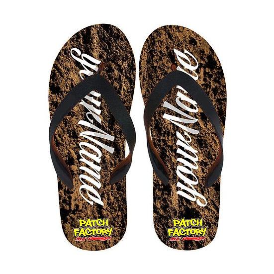 Flip Flops - Dirt
