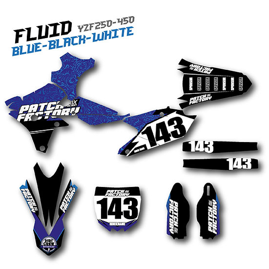 "Bike Graphics ""Fluid"""
