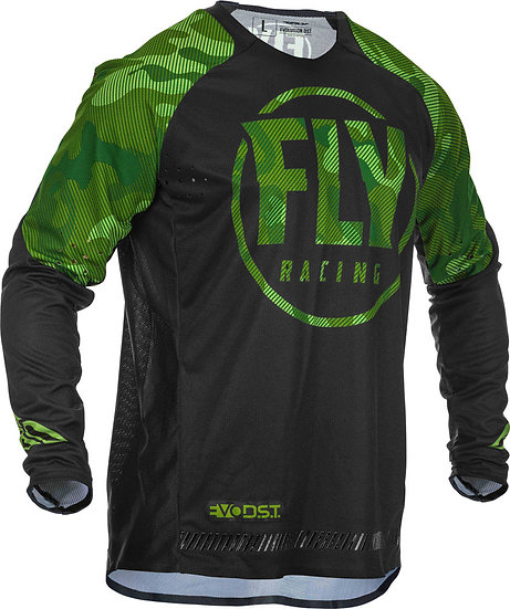 Fly Jersey Evolution DSTgrün-schwarz