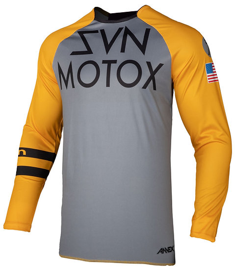 Seven Annex Force Jersey Orange Grau