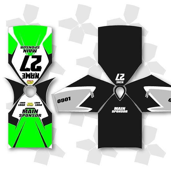 2-Layer Sports Custom Jersey Bib