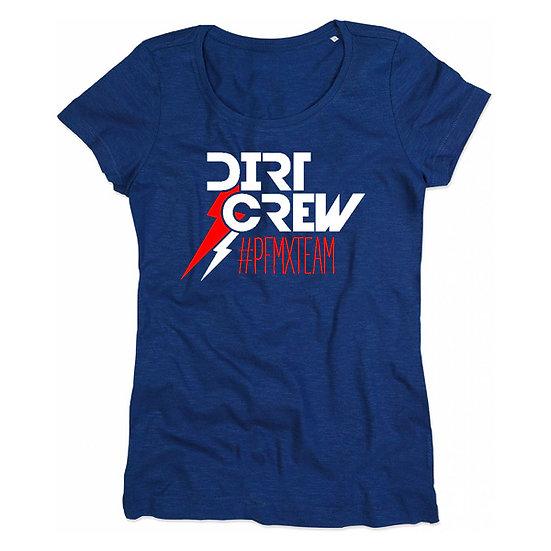 Lady's Dirt Crew Tee