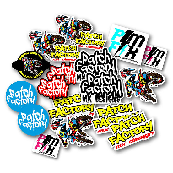 Patch Factory Sticker Pack