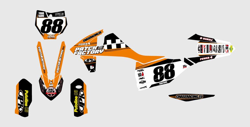 PFMX Team Replica Kit KTM
