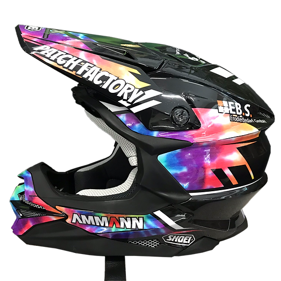 Shoei VFX-WR incl. Custom Dekor