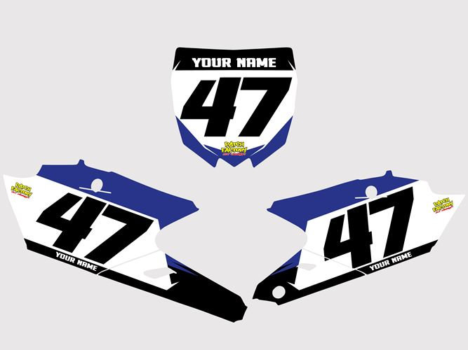 Numberplates Rhyse - Yamaha