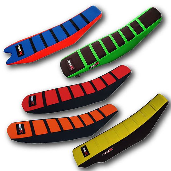 Custom Seatcover - mehrfarbig mit Streifen