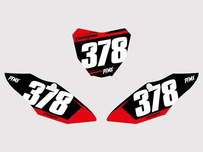 Numberplates Core2 - Honda