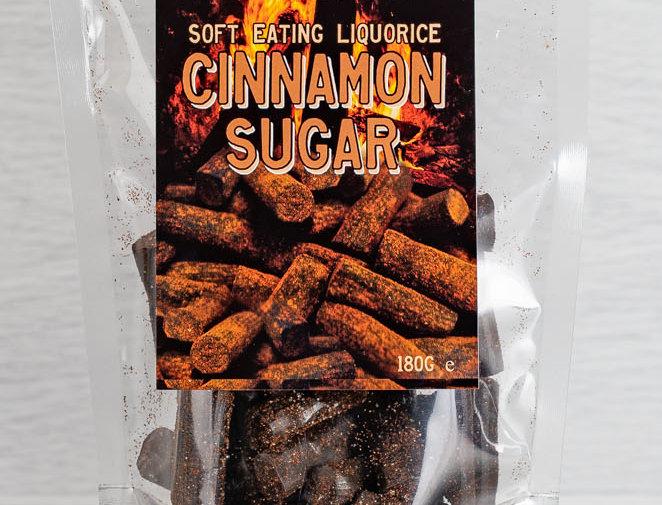 Cinnamon Sugar Coated Liquorice