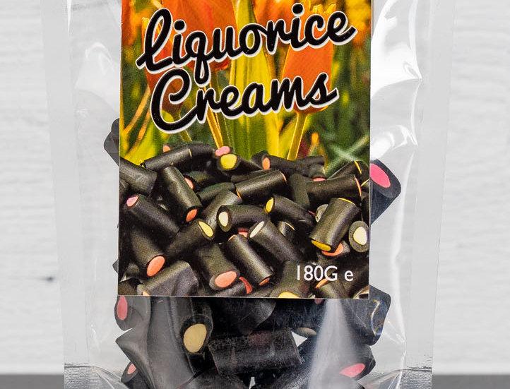 Liquorice Creams