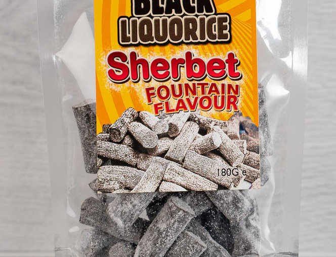 Soft Eating Sherbet Fountain Liquorice