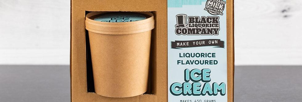 Make Your Own Liquorice Ice Cream Kit