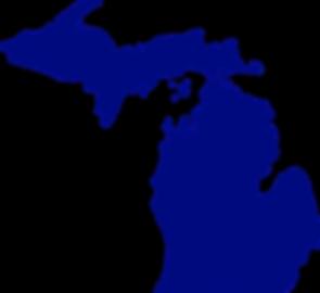 Michigan Silhouette