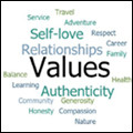 Values: Work on Being Yourself
