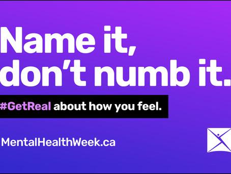 CMHA Mental Health Week - May 3-9, 2021