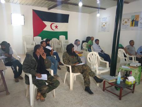 Les cours de formation dans les camps des réfugiés ont pu commencer!