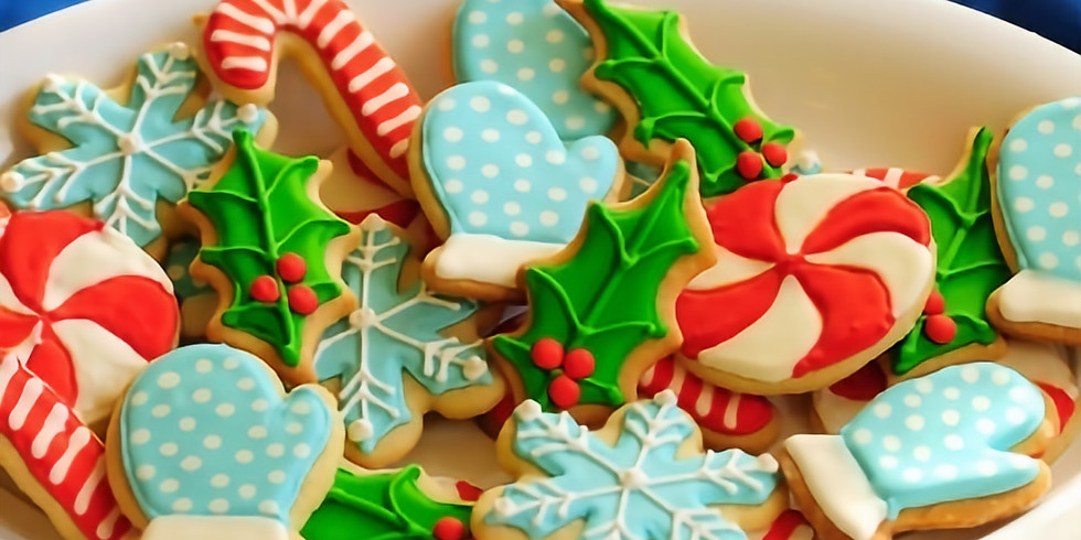Holiday Cookie Class  Dec 14, 2019