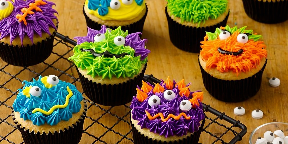 MONSTER CUPCAKES  --**GREAT FOR KIDS & ADULTS!**   Oct 26, 2019