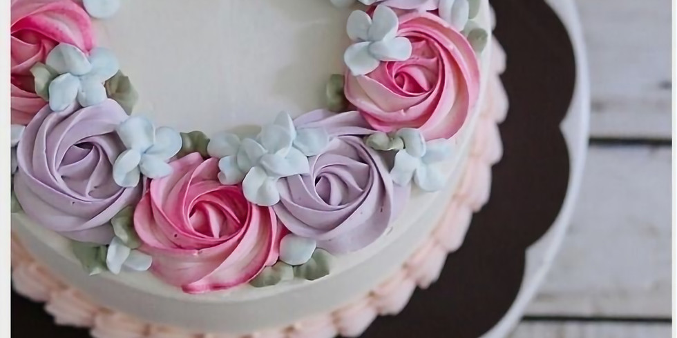BEGINNING CAKE DECORATING – BUTTERCREAM Nov 2018