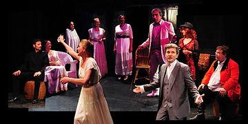l'Ecole du Comédien scène et image dans l'Atelier spectacle theatre adulte La Cerisaie de Anton techkov