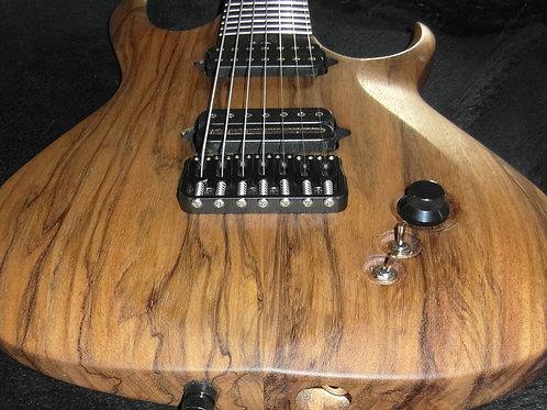 Woodstock Custom Guitars MA-7 Black Limba