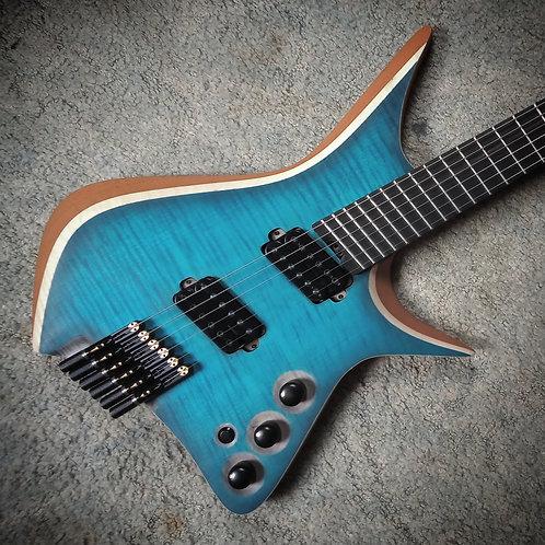 WEGuitarsUK SPhl Custom Electric Guitar. Bareknuckle Pickups