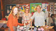 Clothing and crafts raise funds